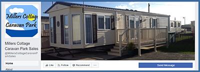 millers cottage caravan park sales